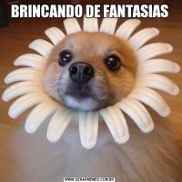 BRINCANDO DE FANTASIAS