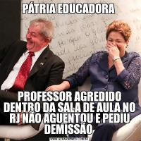 PÁTRIA EDUCADORA PROFESSOR AGREDIDO DENTRO DA SALA DE AULA NO RJ NÃO AGUENTOU E PEDIU DEMISSÃO