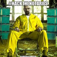 #HACKTHENOTARIES
