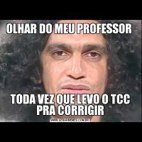 OLHAR DO MEU PROFESSOR TODA VEZ QUE LEVO O TCC PRA CORRIGIR