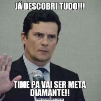 JÁ DESCOBRI TUDO!!!TIME PA VAI SER META DIAMANTE!!
