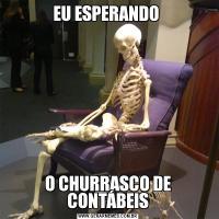 EU ESPERANDO O CHURRASCO DE CONTÁBEIS