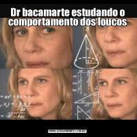 Dr bacamarte estudando o comportamento dos loucos