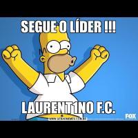 SEGUE O LÍDER !!!LAURENT1NO F.C.