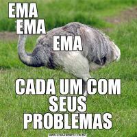 EMA                             EMA                        EMACADA UM COM SEUS PROBLEMAS