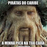 PIRATAS DO CARIBEA MINHA PICA NA TUA CARA