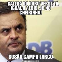 GALERA DO OURO VERDE TÁ IGUAL O AÉCIO, SÓ NO CHEIRINHO!BUSÃO CAMPO LARGO