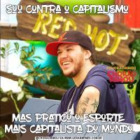 sou contra o capitalismo mas pratico o esporte mais capitalista do mundo