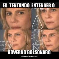 EU  TENTANDO  ENTENDER O GOVERNO BOLSONARO