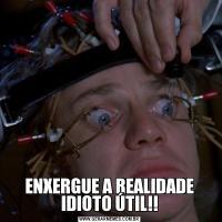 ENXERGUE A REALIDADE IDIOTO ÚTIL!!
