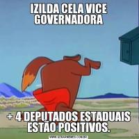 IZILDA CELA VICE GOVERNADORA+ 4 DEPUTADOS ESTADUAIS ESTÃO POSITIVOS.