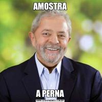 AMOSTRAA PERNA