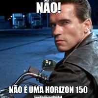NÃO!NÃO É UMA HORIZON 150