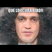 QUE LOUCURA BIXO!!