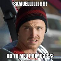 SAMUELLLLLL!!!!!KD TU MEU PRIMO????