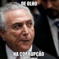 DE OLHONA CORRUPÇÃO