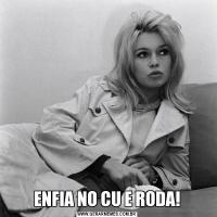 ENFIA NO CU E RODA!