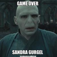 GAME OVER SANDRA GURGEL