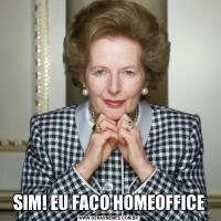 SIM! EU FAÇO HOMEOFFICE