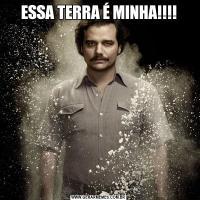 ESSA TERRA É MINHA!!!!