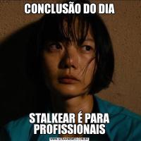 CONCLUSÃO DO DIASTALKEAR É PARA PROFISSIONAIS