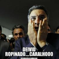 DEIVID ROPINADO....CARALHOOO
