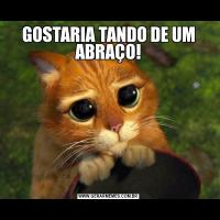 GOSTARIA TANDO DE UM ABRAÇO!