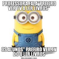 PROFESSORA FALA