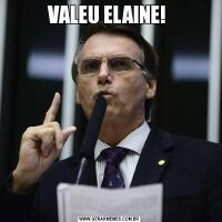 VALEU ELAINE!