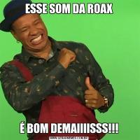 ESSE SOM DA ROAXÉ BOM DEMAIIIISSS!!!