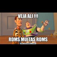 VEJA ALI !!!RDMS MUITAS RDMS