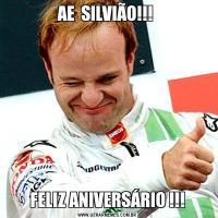 AE  SILVIÃO!!! FELIZ ANIVERSÁRIO !!!