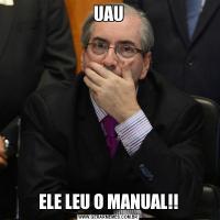 UAUELE LEU O MANUAL!!
