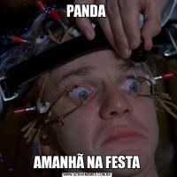 PANDA AMANHÃ NA FESTA