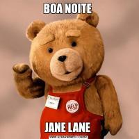 BOA NOITE JANE LANE