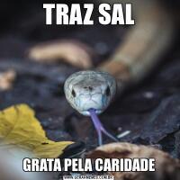 TRAZ SALGRATA PELA CARIDADE