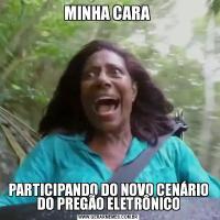 MINHA CARA PARTICIPANDO DO NOVO CENÁRIO DO PREGÃO ELETRÔNICO