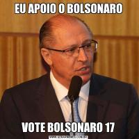 EU APOIO O BOLSONAROVOTE BOLSONARO 17