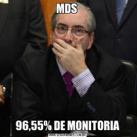 MDS 96,55% DE MONITORIA