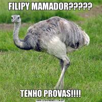 FILIPY MAMADOR?????TENHO PROVAS!!!!