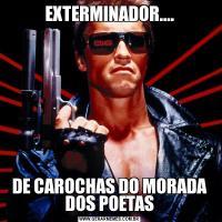 EXTERMINADOR....DE CAROCHAS DO MORADA DOS POETAS