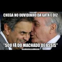 CHEGA NO OUVIDINHO DA GATA E DIZ