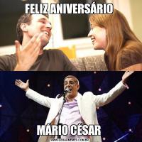FELIZ ANIVERSÁRIO MÁRIO CÉSAR