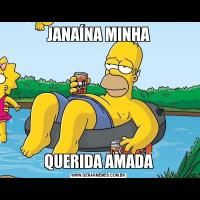 JANAÍNA MINHAQUERIDA AMADA