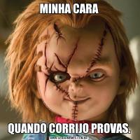 MINHA CARAQUANDO CORRIJO PROVAS.