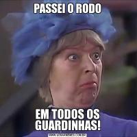 PASSEI O RODOEM TODOS OS GUARDINHAS!