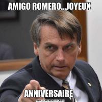 AMIGO ROMERO...JOYEUX ANNIVERSAIRE