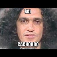 SAI CACHORRO