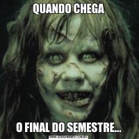 QUANDO CHEGAO FINAL DO SEMESTRE...