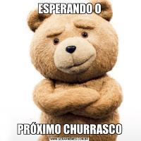 ESPERANDO OPRÓXIMO CHURRASCO